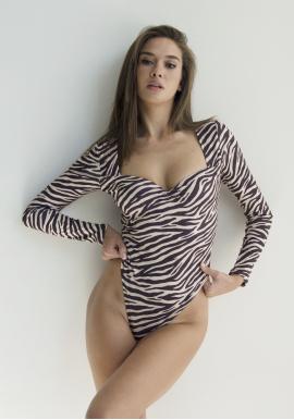 Боди VICTORIA zebra