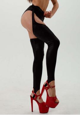 Чулки EXOT leather (без шортиков)