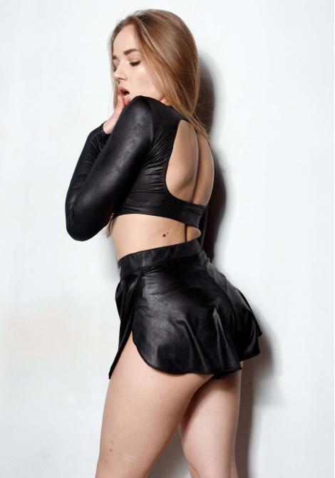 Комплект CLEO BUTTERFLY leather